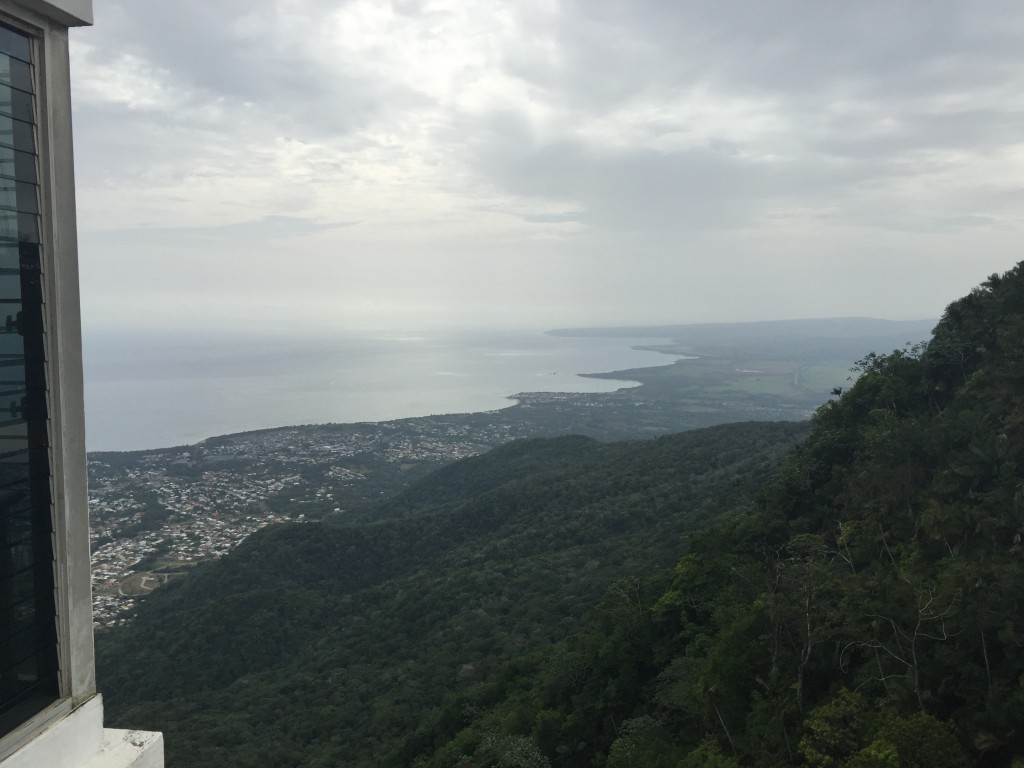 Puerto Plata view from the mountain
